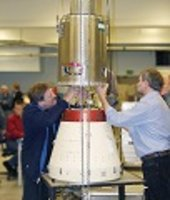 Maxus 6 sounding rocket assembly