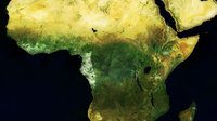MERIS mosaic of Africa