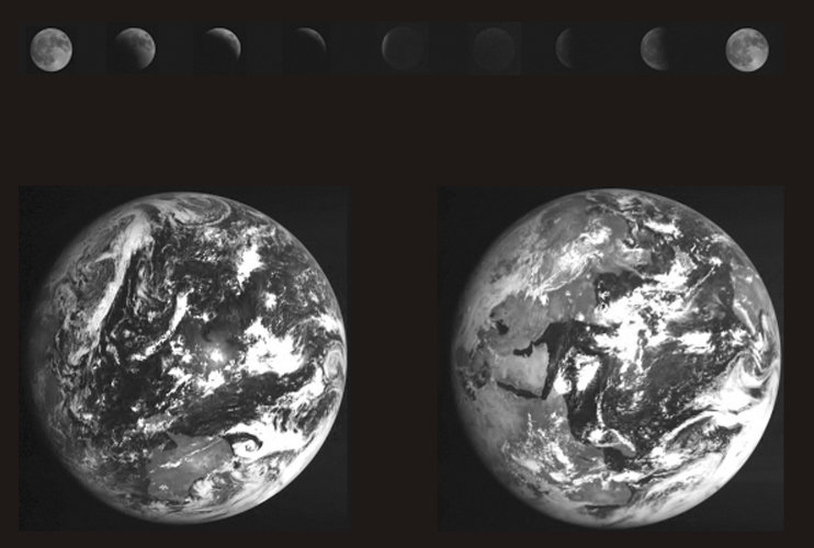 SMART-1 sees total lunar eclipse from space