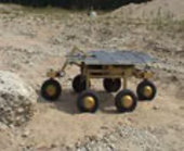 The solar powered Solero rover