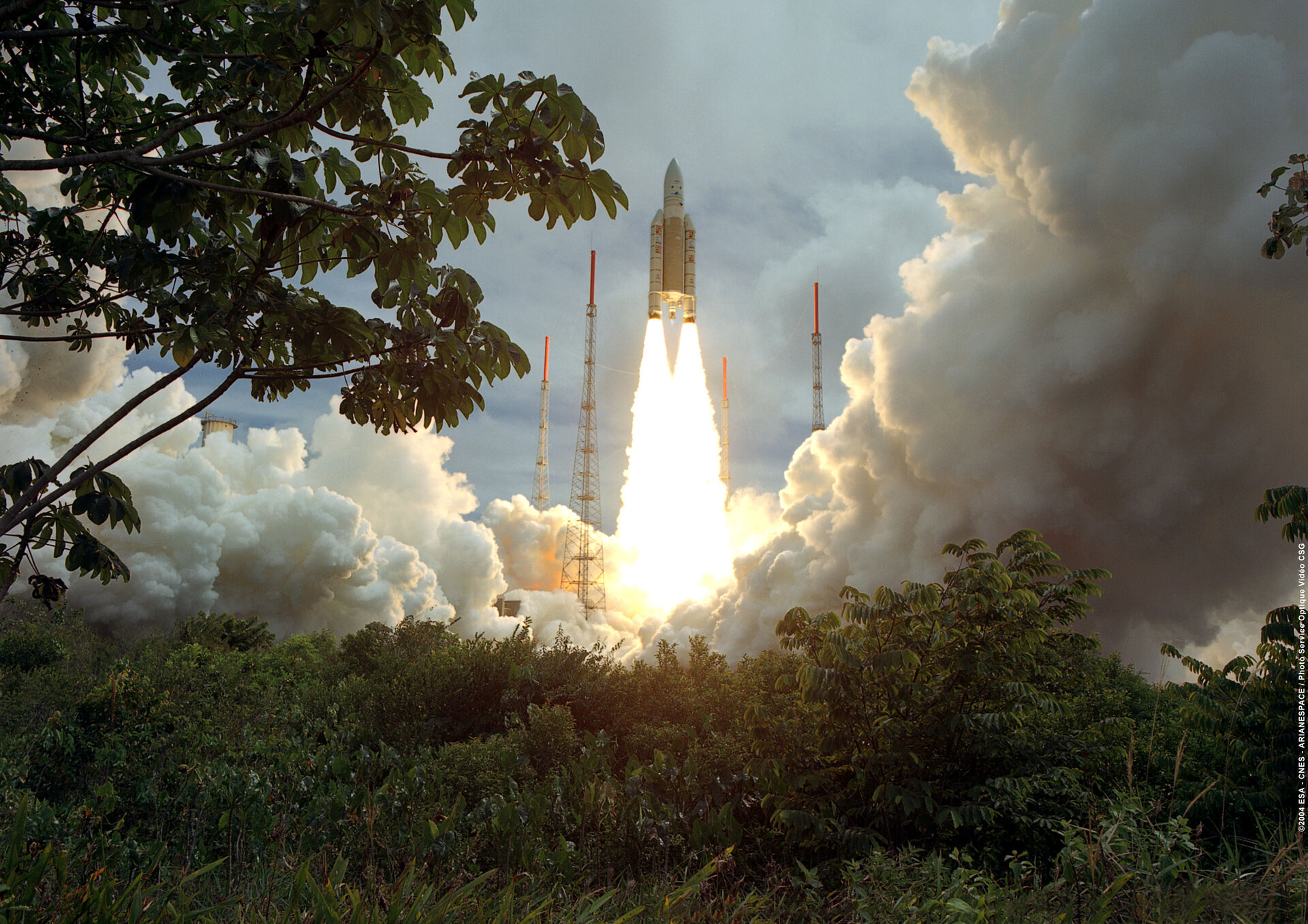 Liftoff for an Ariane 5 Generic Plus