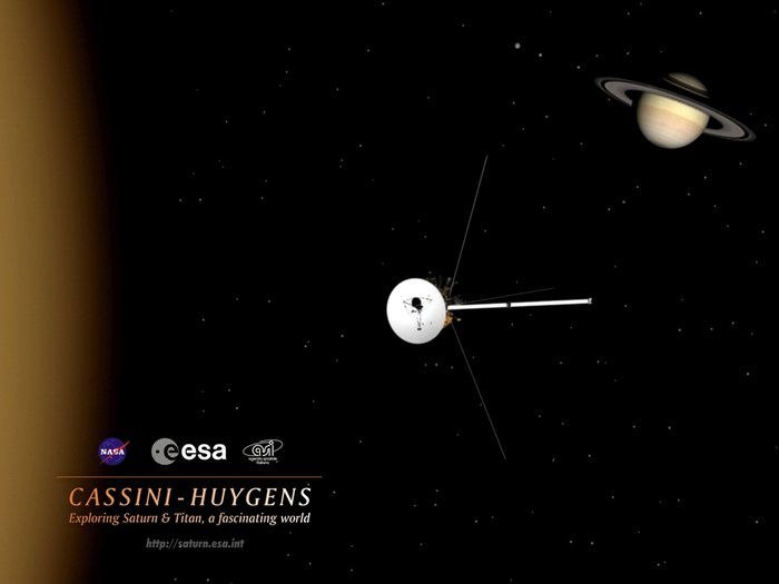 Space in Images - 2004 - 12 - Cassini-Huygens Wallpaper 3