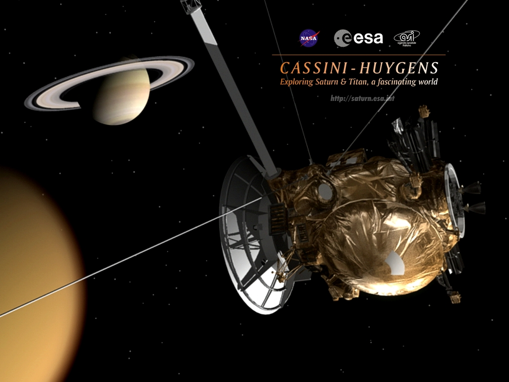 Space in Images - 2004 - 12 - Cassini-Huygens Wallpaper 4
