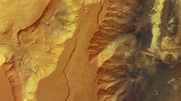 Candor Chasma in colour