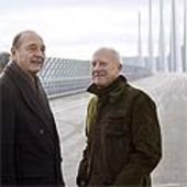 Chirac and Sir Norman Foster
