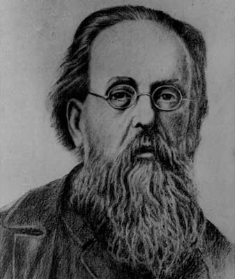 Russian scientists Konstantin Tsiolkovsky (1857-1935)