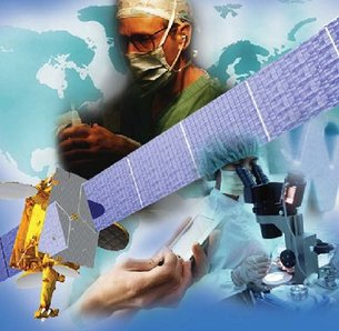 Satellite technology has a role in global healthcare