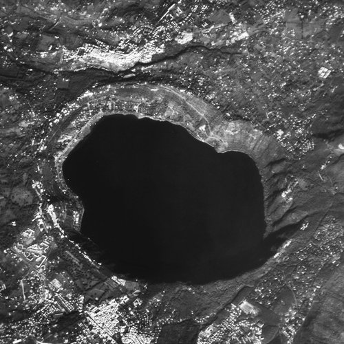 Lake Albano, Italy, seen by ESA's Proba satellite