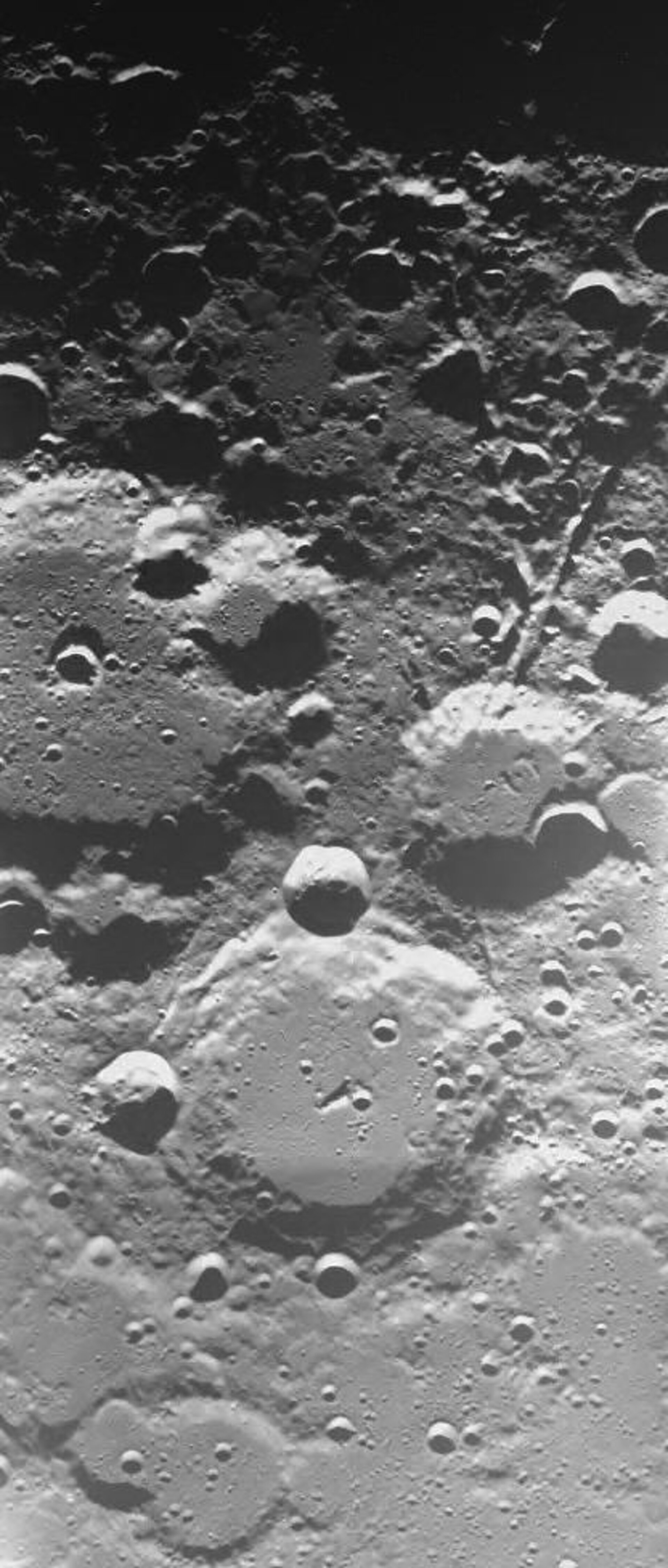 Lunar craters Brianchon and Pascal