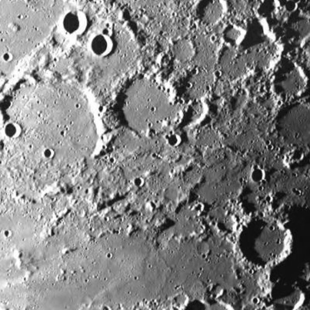 Smart 1 39 s first images from the moon smart 1 space - Moon close up ...