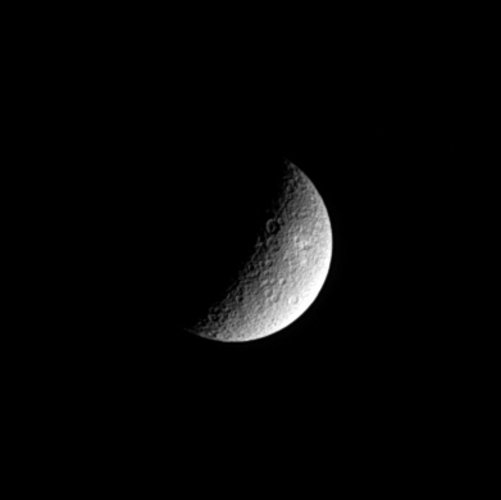 Rhea's ancient surface