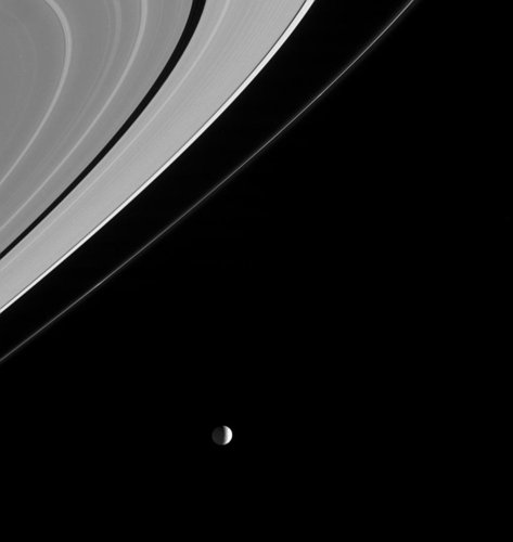 Spotlight on Mimas