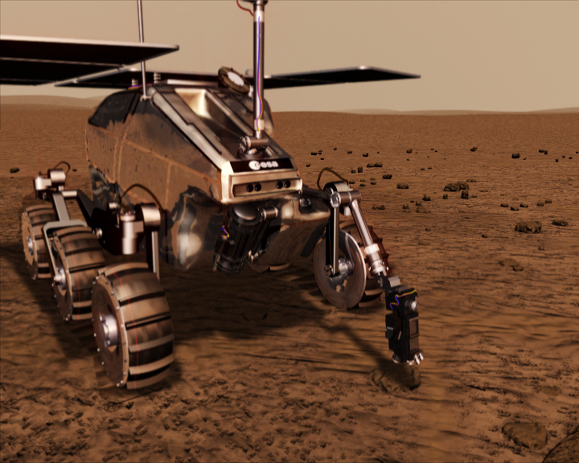 esa mars rover name - photo #16