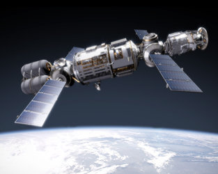 In-orbit assembly around the Earth will play an important role in the future exploration plans