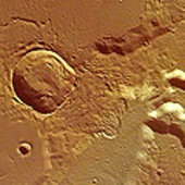 Medusa Fossae in colour