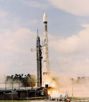 The first Ariane launch