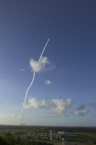 Successful liftoff for Ariane 5 ECA