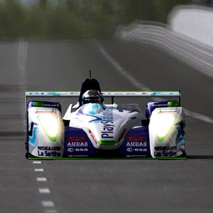PS2's Gran Turismo 4 offers space tech Pescarolo racing cars