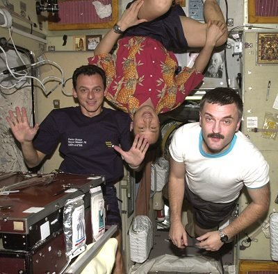 Astronauts in ISS