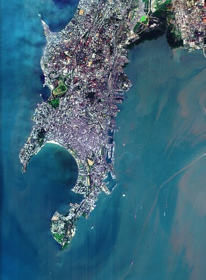 Bombay seen by Proba satellite
