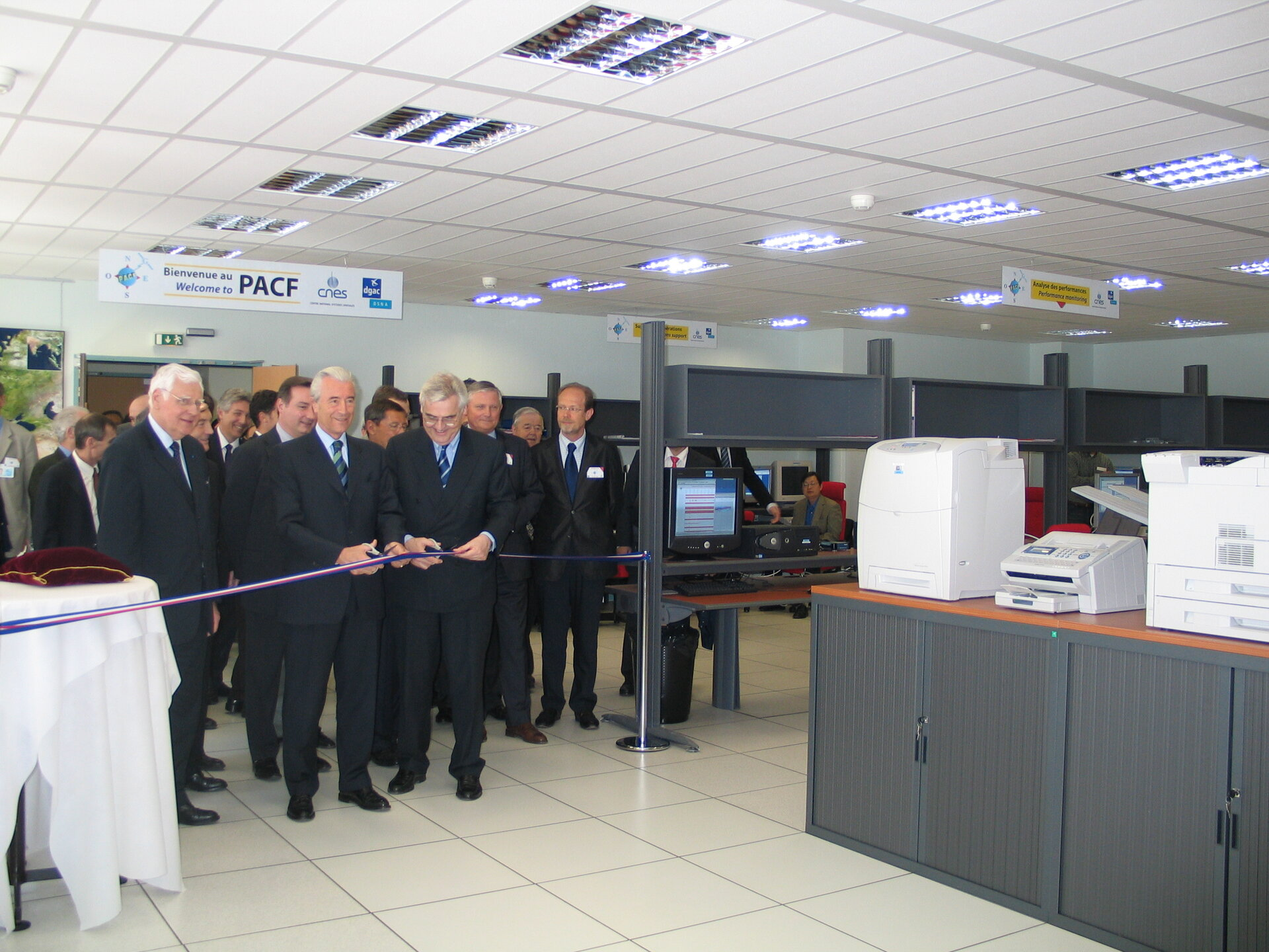 EGNOS inauguration in Toulouse