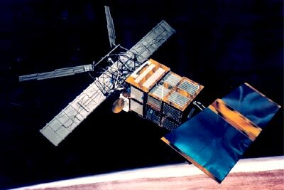 ERS-2 satellite and applications