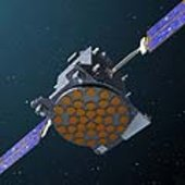 GSTB-V2/A in orbit (artist impression)