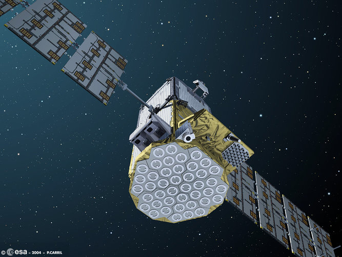 GSTB-V2/B in orbit (artist impression)