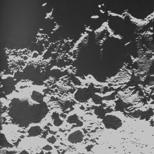 SMART-1 Search for lunar peaks of eternal light
