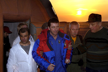 The landing in Kazakhstan marks the end of a successful mission for Roberto Vittori