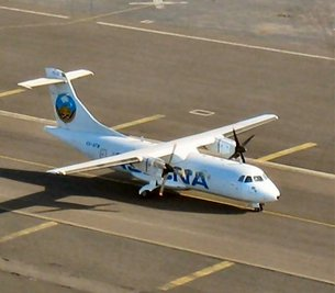 ASECNA plane will land using the EGNOS