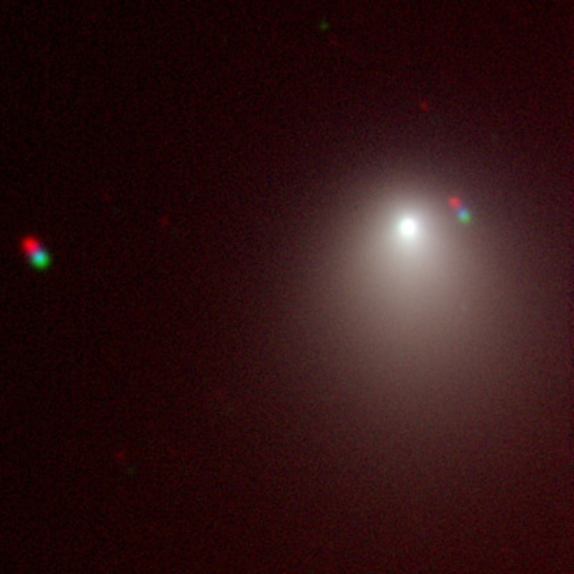 Comet 9P/Tempel 1 as seen by ESO telescope