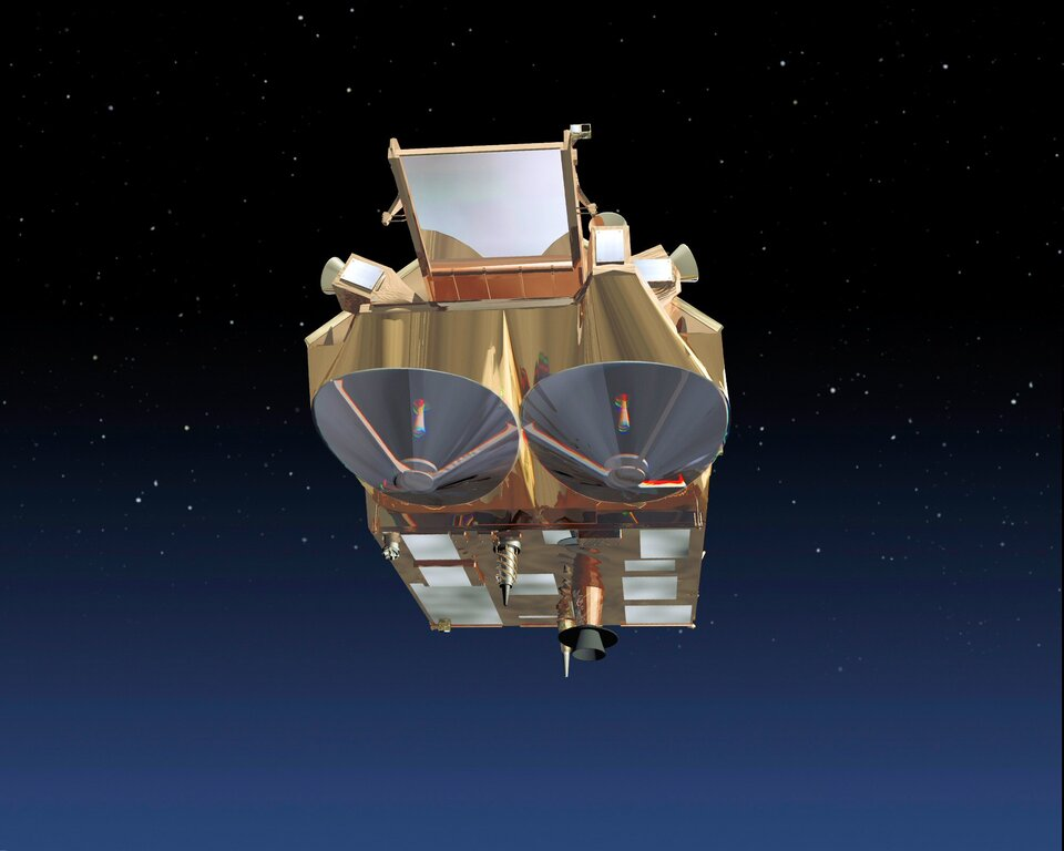 CryoSat front view