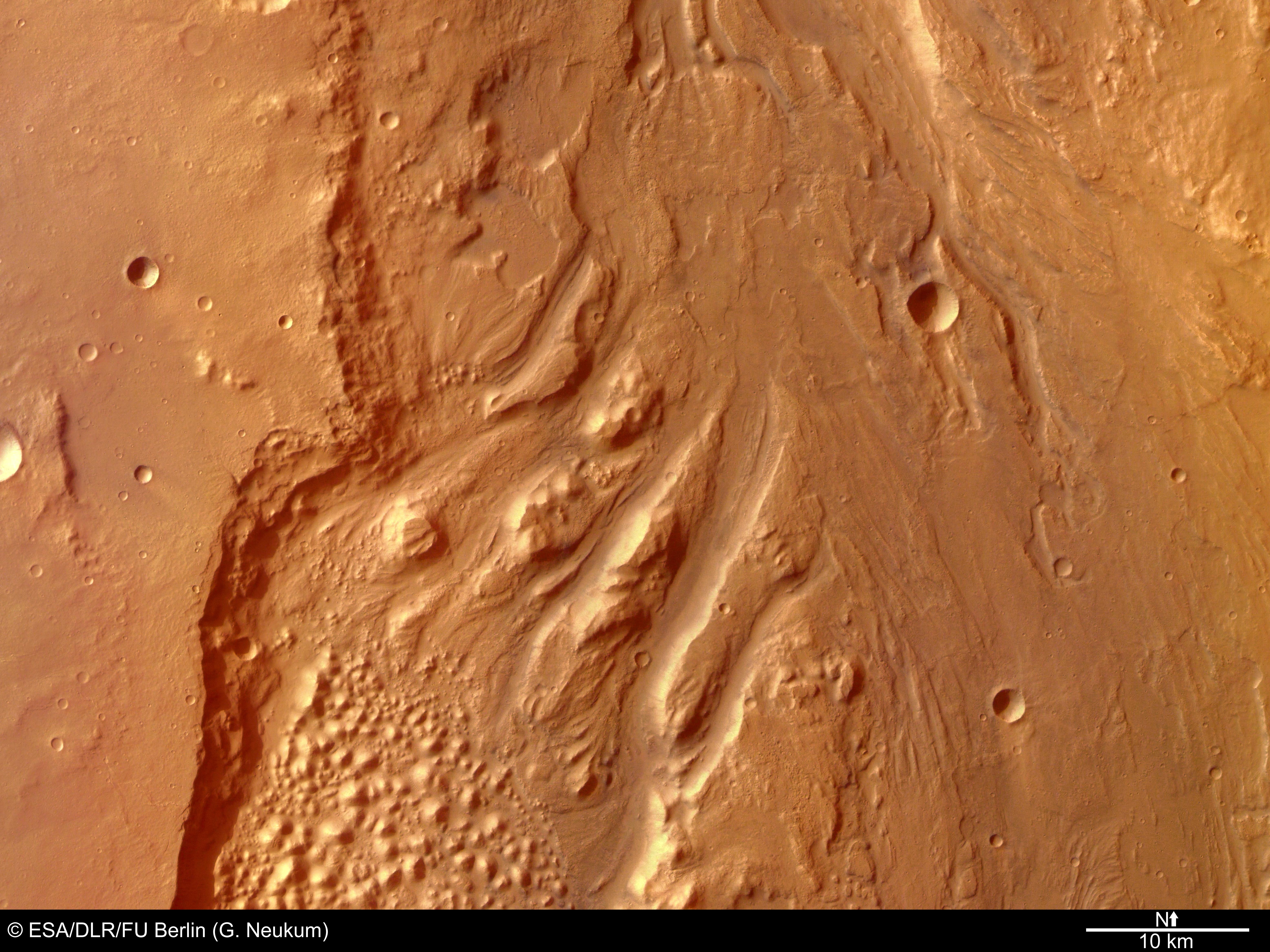 mars surface description - HD1280×1024