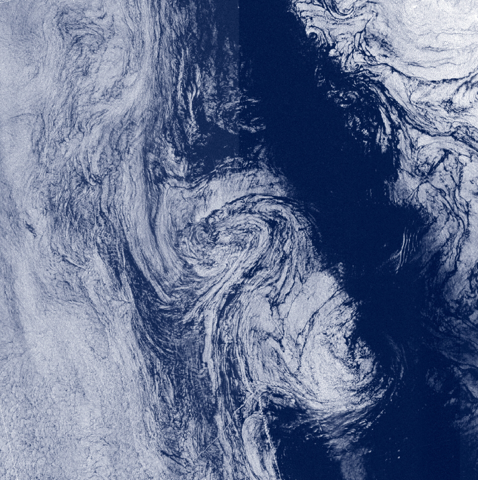 ERS image - North Atlantic