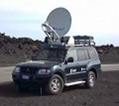 ESA's transportable communications vehicle