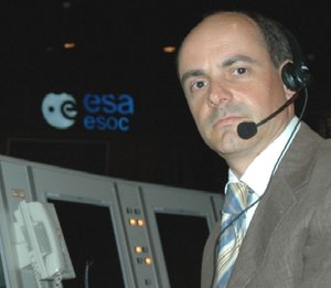 Alessandro Donati, head of ESOC's Mission Control Technologies Unit