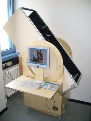 Collimation testbed of the Dobson telescope
