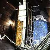CryoSat in the thermal chamber
