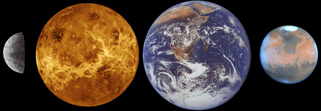 Venus compared to Earth / Venus Express / Space Science ...