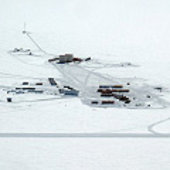Aerial photograph of Concordia Station