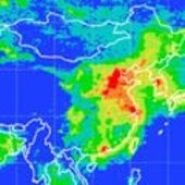 Air quality monitoring over China