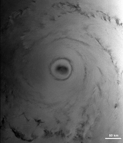Detail of Katrina's eye, seen by Envisat