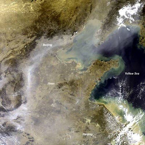 Envisat optical view of China haze