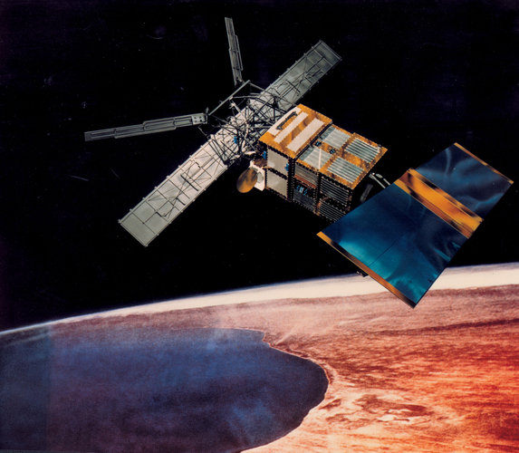 ERS-2 in orbit