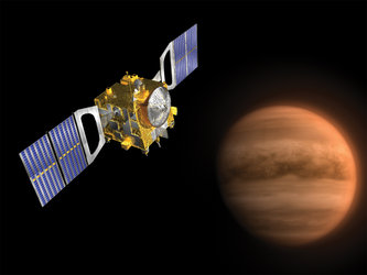 The Venus Express spacecraft