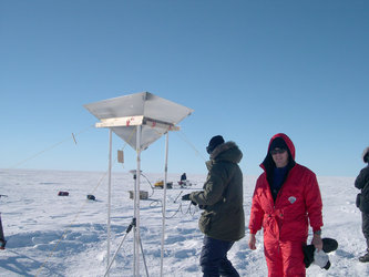 UK scientists work on CryoSat validation