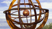 Armillary sphere at ESRIN