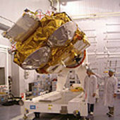 CryoSat on the multipurpose trolley