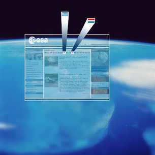 Greece and Luxemburg join the ESA Web Portal